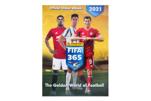 Альбом для наклеек FIFA 365 2021 Panini 1шт