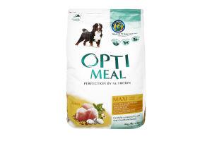 Корм для собак Optimeal больших пород курица сухой