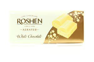 Шоколад белый пористый Roshen 100г