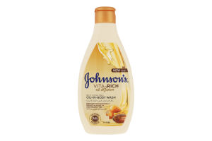 Гель для душу живильний з оліями мигдалю та ши Oil ihfusion Vita-Rich Johnson's 250мл