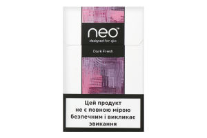 Стіки Dark Fresh Neo 20шт