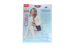 CONTE-KIDS Fantasy колготи дитячі Eva р.104-110 cherry