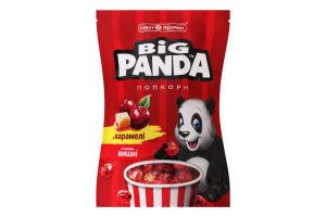 Попкорн в карамелі зі смаком вишні Big Panda д/п 90г