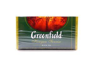 Чай черный Kenyan Sunrise Greenfield к/у 25х2г