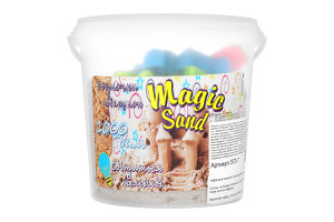 Набір для творчості класичний що світиться у темряві для дітей від 3років №372-7 Magic Sand Strateg 1шт