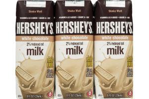 Hershey's 2% Reduced Fat Milk White Chocolate - 3 CT