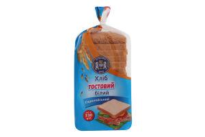 Хлеб нарезной тостовый белый Европейский Кулиничі м/у 330г