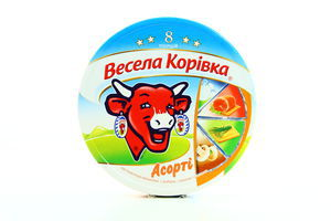 Сыр 43% плавленый порционный ассорти Веселая коровка 120г