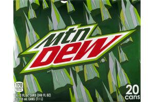 Mtn Dew - 20 PK