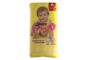 Підгузники-трусики Libero DryPants 5 Maxi Plus 10-14 кг 32шт