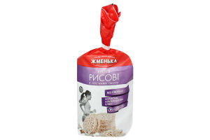 Хлебцы хрустящие рисовые с семенами льна Жменька м/у 100г