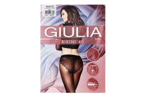Колготки жіночі Giulia Bikini 40den 4-L cappuccino