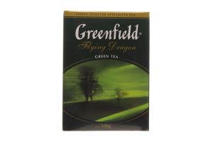 Чай зелений крупнолистовий Флай Дрегон Greenfield 100г