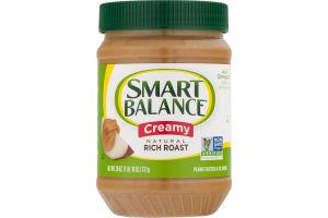 Smart Balance Natural Rich Roast Creamy Peanut Butter