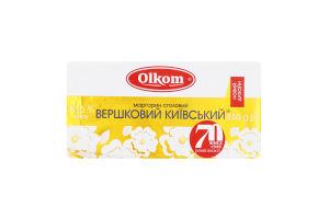 Маргарин 72.5% столовый Сливочный Киевский Olkom м/у 450г