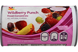 Ahold Frozen Concentrate Wildberry Punch
