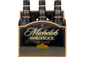 Michelob Amberbock Dark Lager - 6 PK