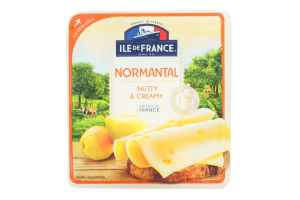 Сир напівтвердий Іль де Франс Норманталь