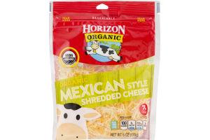 Horizon Organic Shredded Cheese Mexican Style