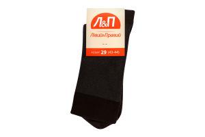 Шкарпетки чоловічі Лівий&Правий 29 коричневий
