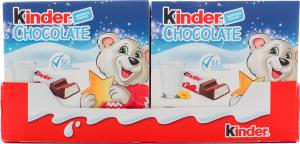Шоколад молочний з молочною начинкою Chocolate Kinder к/у 50г