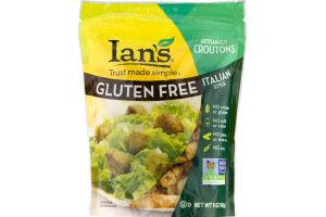 Ian's Gluten-Free Artisan Cut Croutons Italian Style