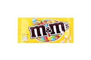 Драже с арахисом и молочным шоколадом, покрытое хрустящей разноцветной глазурью M&M`s м/у 45г
