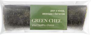 Ролл Green Chef з киноа авокадо та бататом
