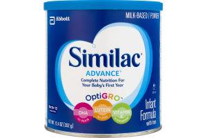 Similac Powdered Infant Formula Advance