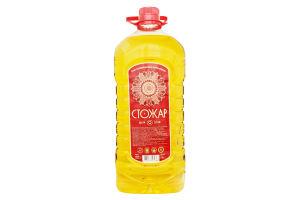 Масло подсолнечное рафинированное Шеф Стожар п/бут 3л