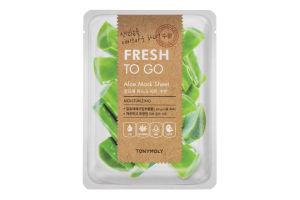 Маска для обличчя тканинна Aloe Fresh To Go Tonymoly 20г