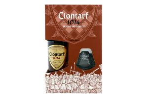 Виски Clontarf 1014 Single Malt Irish GB + 1 Gl.