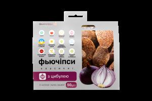 Фьючіпси з насіння льону Класичні з цибулею Фьючефуд к/у 50г