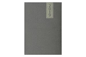 Ежедневник дат. 2019 VERTICAL, A6, 336 стр., серый