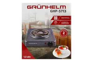 Плита електрична 1.2 кВт GHP-5713 Grunhelm 1шт