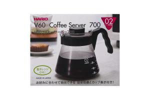 Сервер для заварювання кави 700мл V60 №VCS-02B Hario 1шт