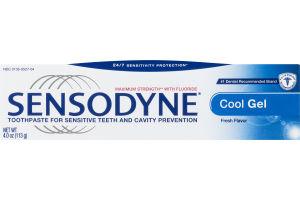 Sensodyne Maximum Strength Toothpaste Cool Gel Fresh Flavor