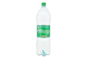 Вода минеральная природная столовая слабогазированная Кривоозерська п/бут 2л