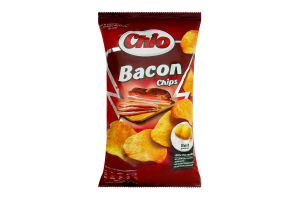 Чіпси Chio Bacon 150г x8