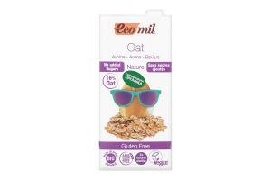 Молоко рослинне органічне безглютенове із овса Ecomil т/п 1л