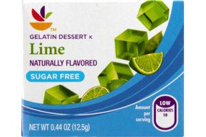 Ahold Gelatin Dessert Lime Sugar Free