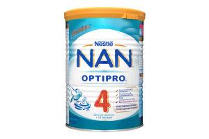Суміш молочна суха для дітей від 18міс №4 Дитяче молочко Premium NAN з/б 400г
