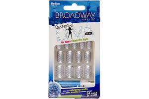 Broadway Nails Fashion Diva Medium Length Nail Kit