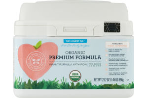 The Honest Co. Organic Premium Formula Infant Formula With Iron