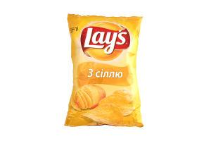 Чіпси з сіллю Lays м/у 133г