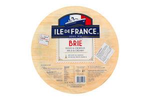 Сир 50% м'який Brie Ile de France кг
