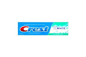 Паста зубная Crest 3D White Extreme mint