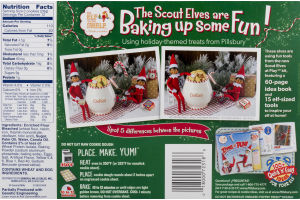 Pillsbury Ready To Bake Christmas Tree Shape Sugar Cookies 24 Ct