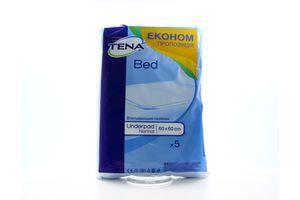 Пелёнки для взрослых впитывающие 60х60см Normal Bed TENA 5шт