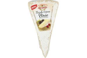 President Triple Creme Brie
